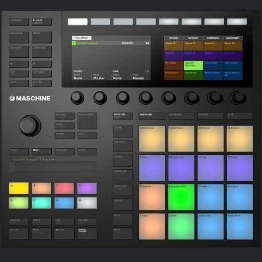 image of the maschine macro