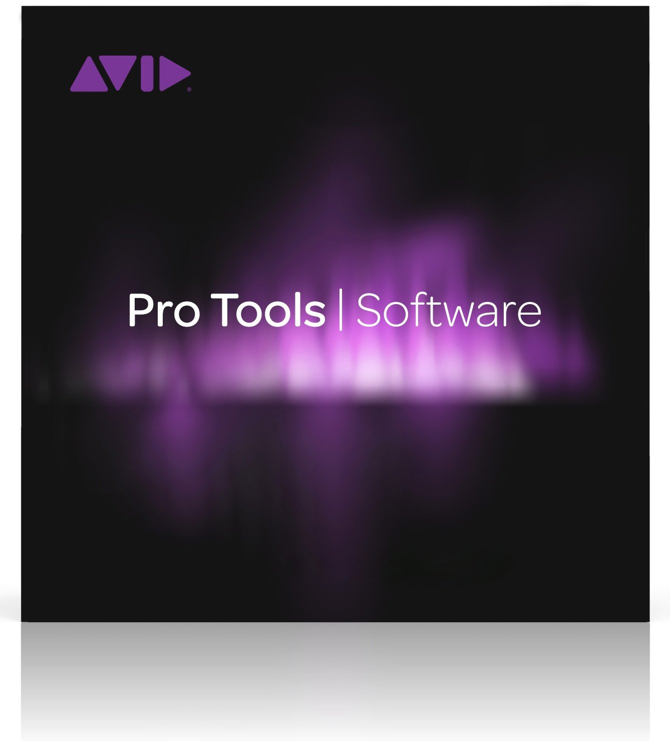 image of Avid ProTools Software box