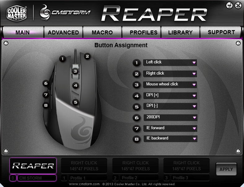 image of Reaper software user interface